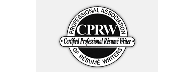 she is a certified professional resume writer cprw and is a member of the professional association of resume writers parw